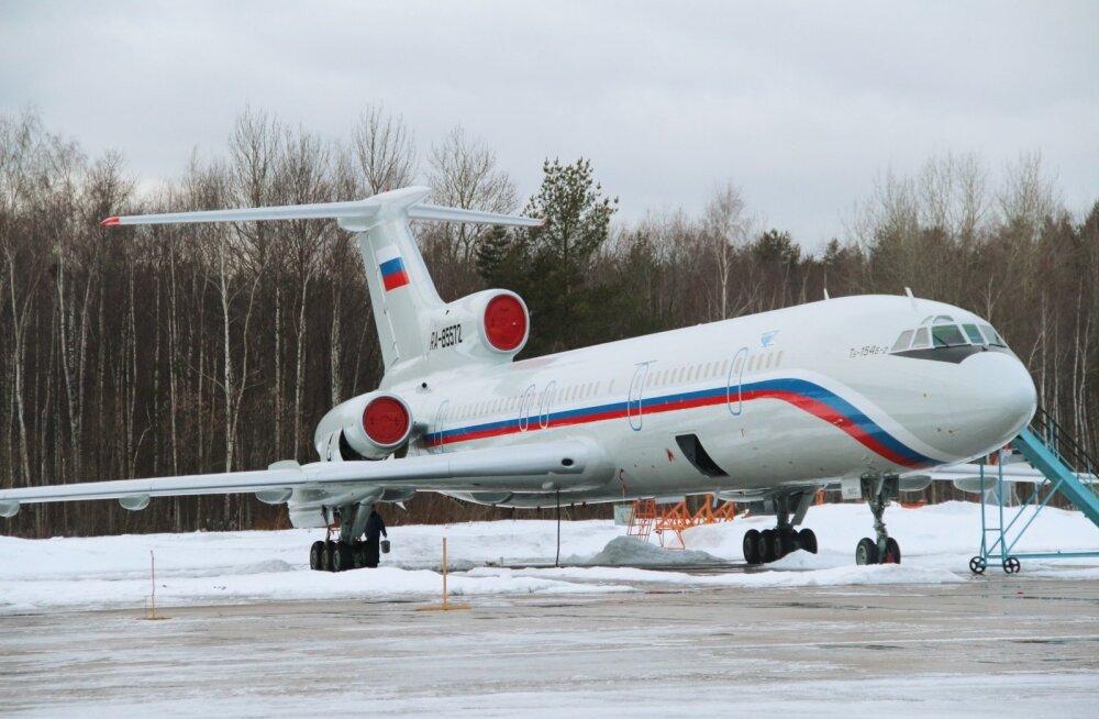 Vene lennuki kuulsa Aleksandrovi ansambliga kukutas Musta merre väidetavalt liiga raske koorem