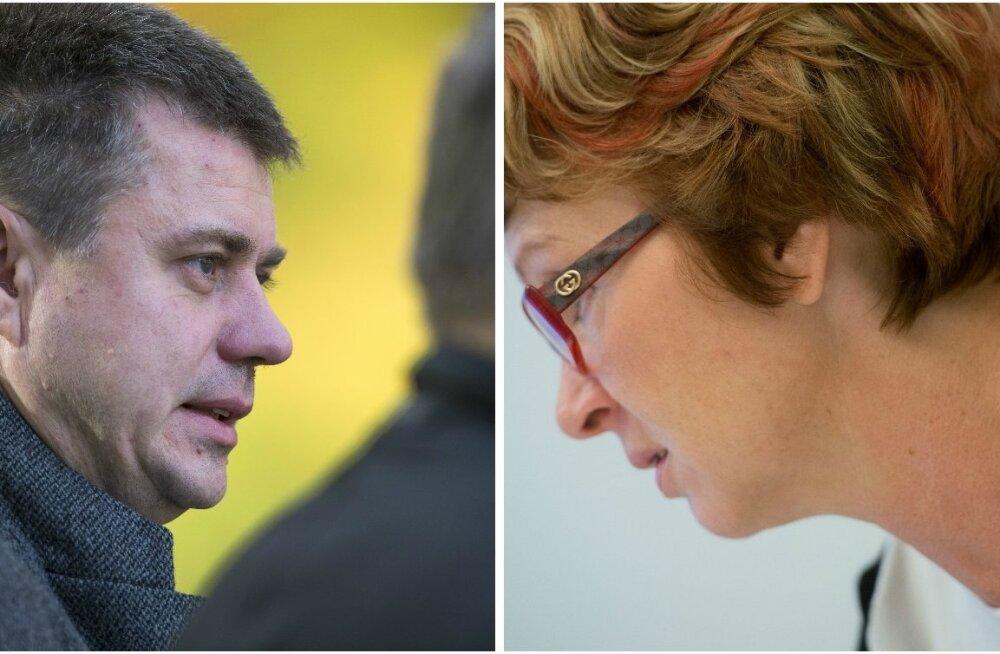 Urmas Reinsalu ja Yana Toom