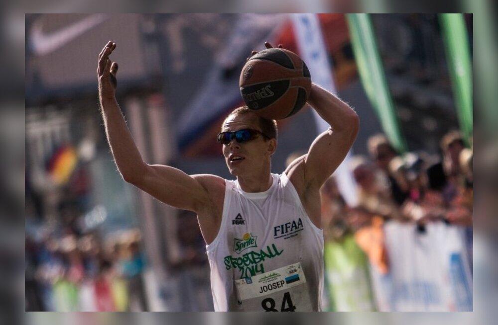 FOTOD: Tallinna Maratonil püstitati korvpalli põrgatades Guinnessi rekord!