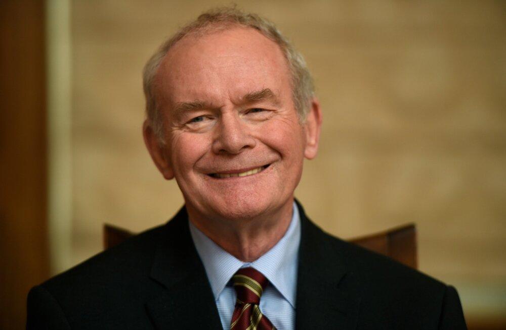 Suri Põhja-Iirimaa endisest IRA-lasest rahusõlmija Martin McGuinness
