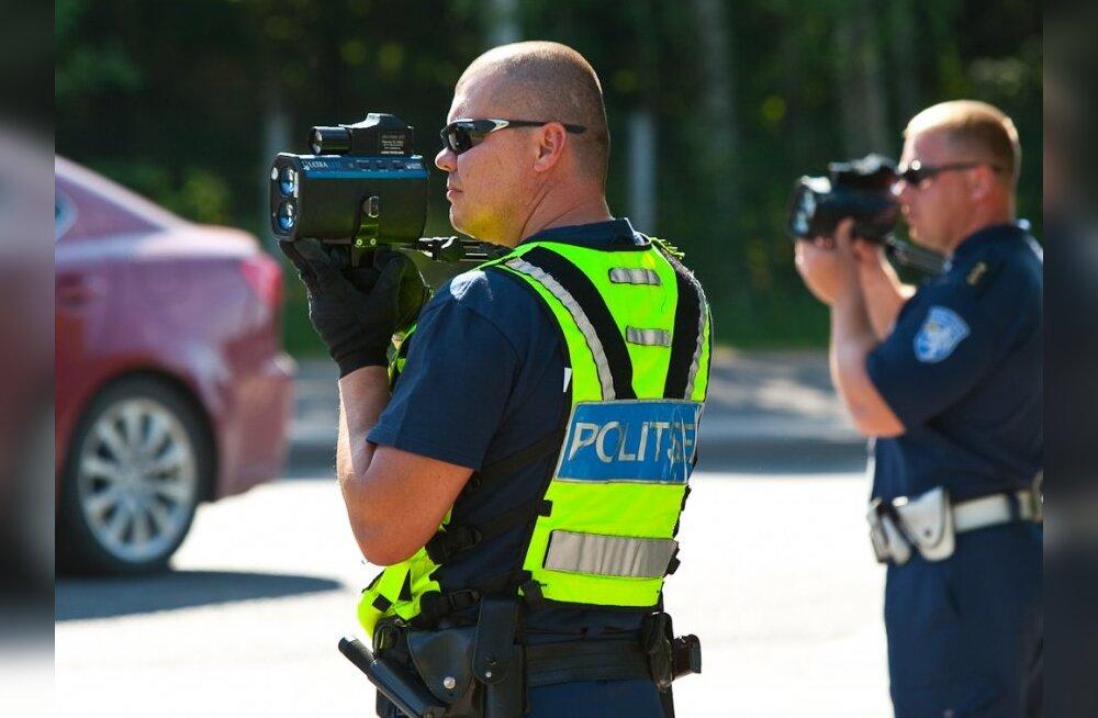 Politsei avastas ohutu sõidukiiruse kampaania ajal ligi 5000 kiiruseületajat