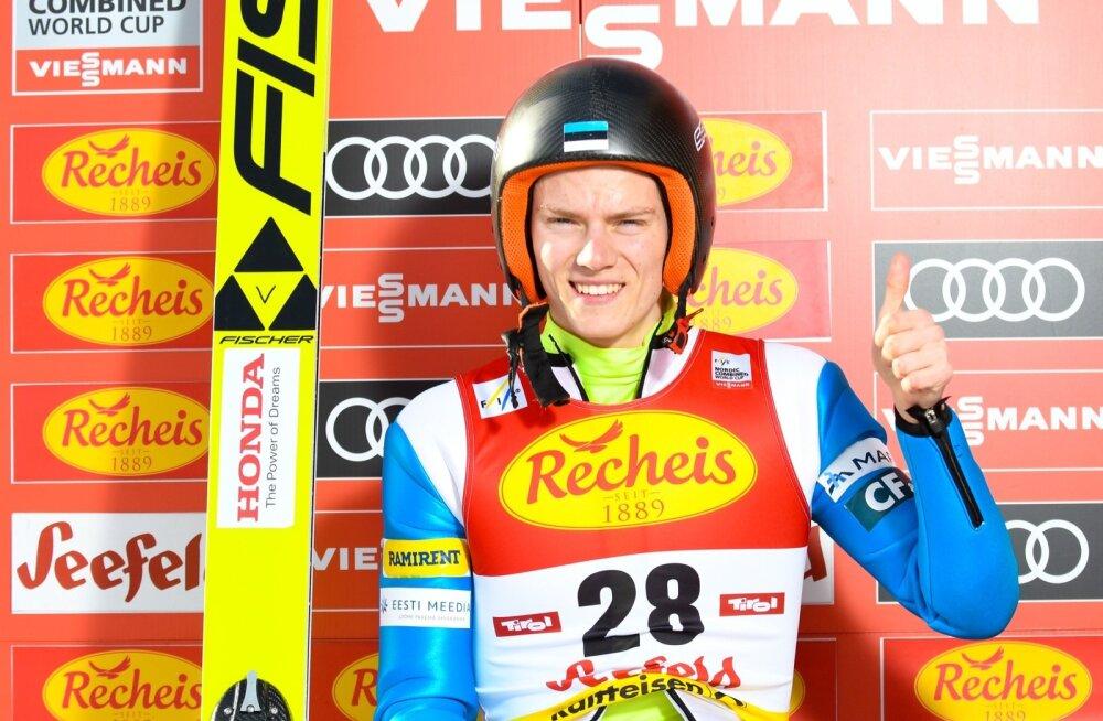Kristjan Ilves on olümpiamängudel Eesti koondise esinumber.