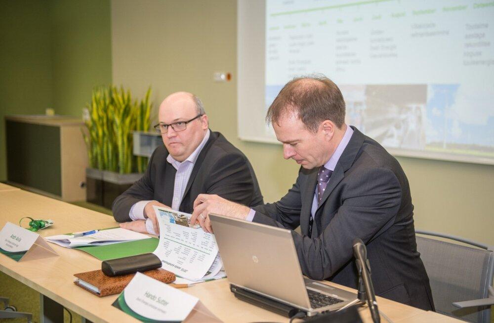 Eesti Energia 2015. aasta majandustulemuste ja olulisemate käimasolevate projektide tutvustus