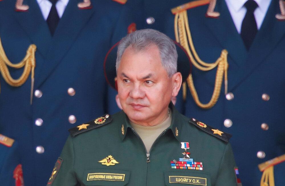 Venemaa kaitseminister Šoigu: olukord läänepiiridel on pingeline