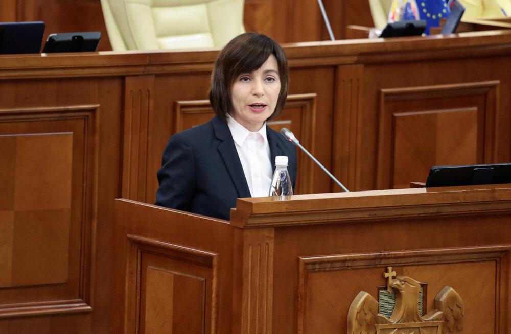 Moldova valitsusele avaldati parlamendis umbusaldust