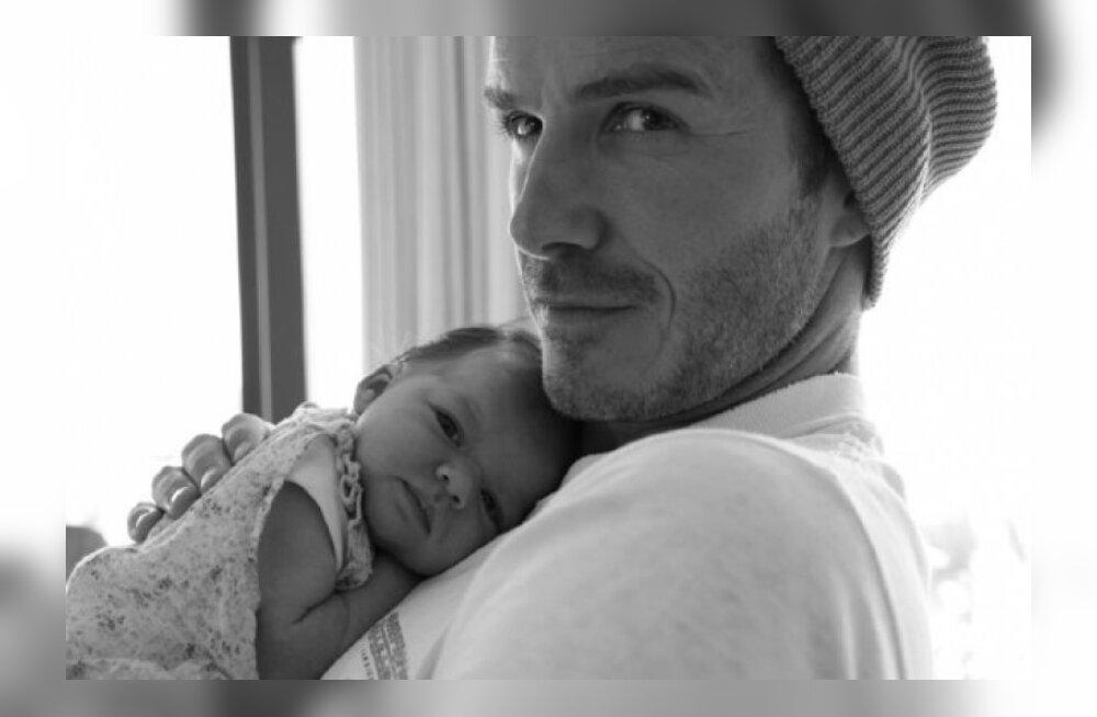FOTO: Beckhamite tütar on NII NUNNU!