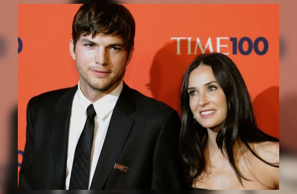 Ashton Kutcher pettis oma naist?