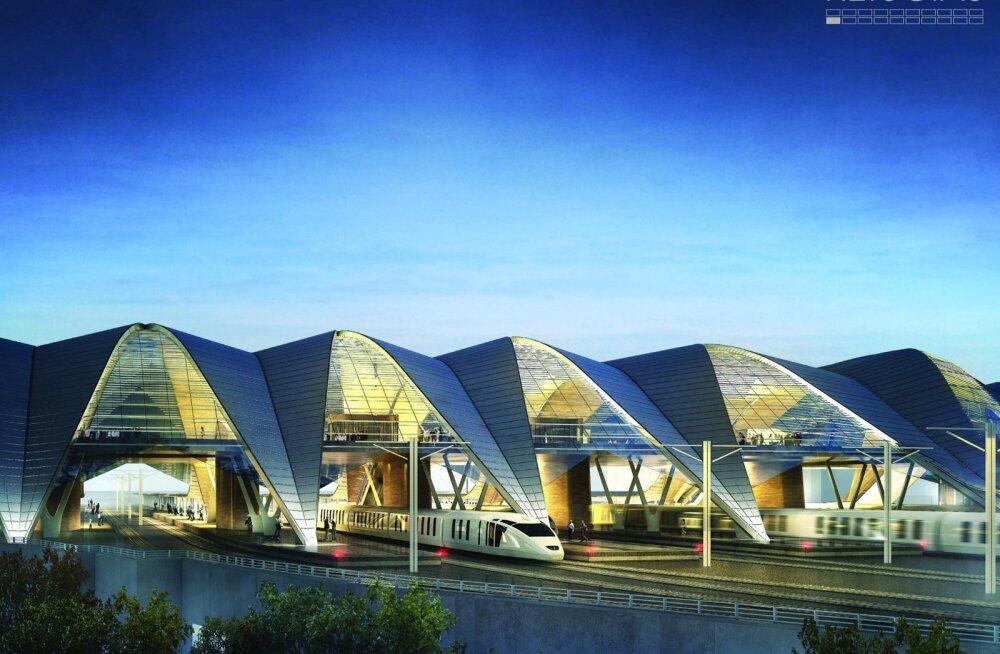 Rail Balticu Riia terminal