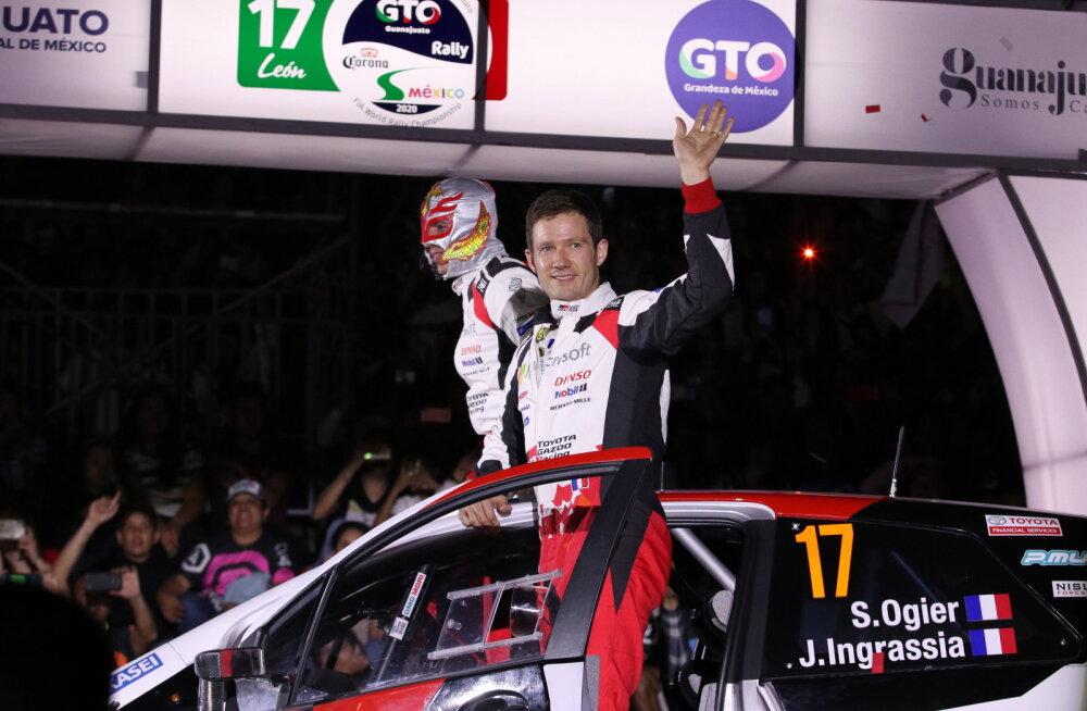 Toyotaga esimese võidu võtnud Ogier: see ralli poleks pidanud toimuma