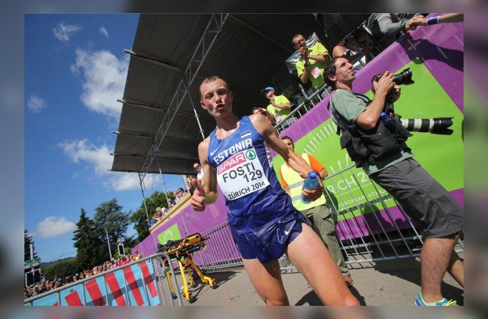 Zürichi EM-i meeste maraton, Roman Fosti finišis