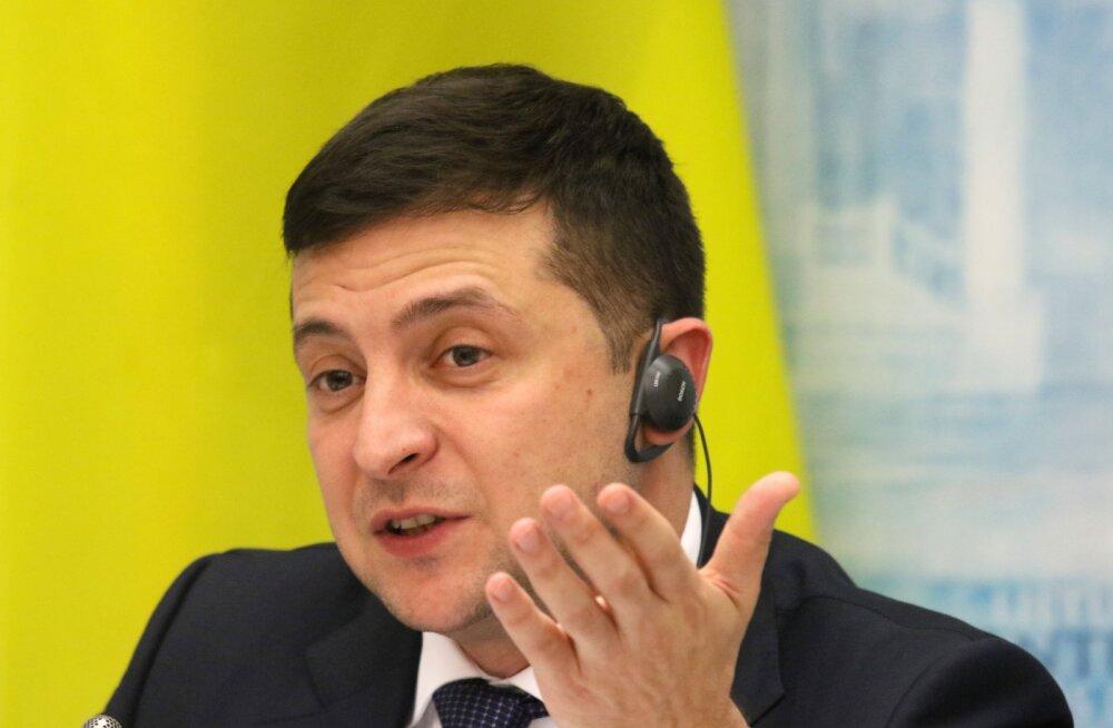 Zelenskõi lubab Putiniga kohtumisel esitada kolm tingimust