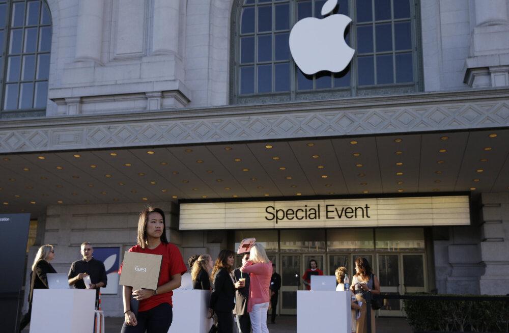 Apple'i tooteesitlus toimub hiiglaslikus Bill Graham Civic auditooriumis.