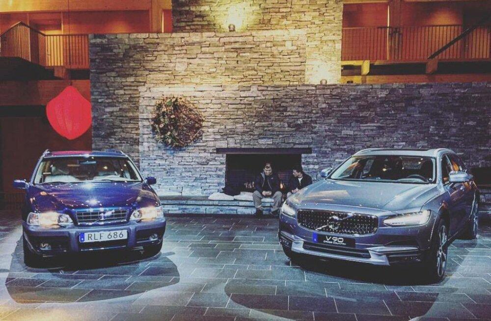 Volvo V90 Cross Country: igatsus igavese talve ja keelatud seikluse järele