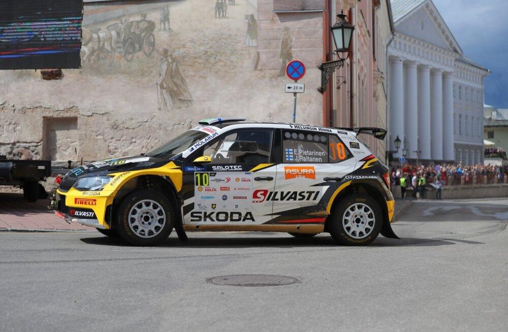 Rally Estonial põnevas heitluses Rainer Ausile kaotanud soomlane: olin mõnes kohas liiga ettevaatlik