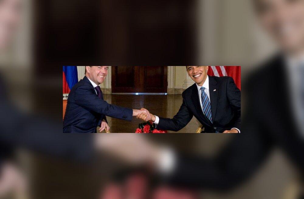 Obama Medvedevile: Moskvas kärbime relvastust