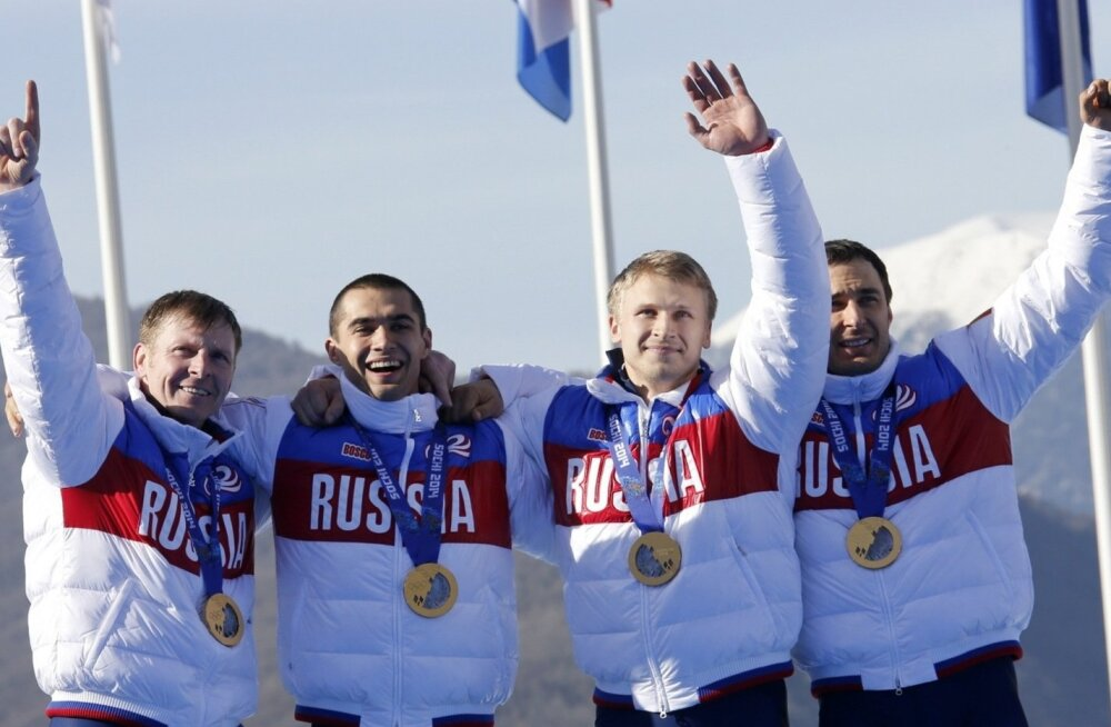 Venemaa neljabobi sai Sotšis kaela kuldsed medalid, kuid nüüdseks ollakse nendest ilma.
