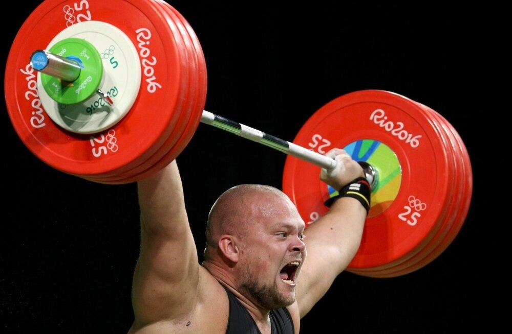 Mart Seim Rio olümpiamängudel.