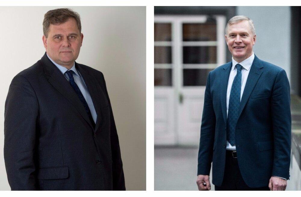 Raivo Aeg ja Kalle Laanet