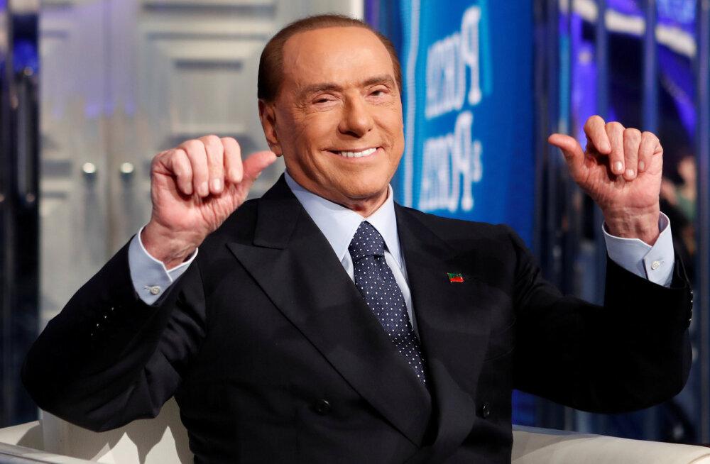 Silvio Berlusconi viidi neeruvaluga haiglasse, aga lubas kohe europarlamendi valimiste kampaaniat jätkata