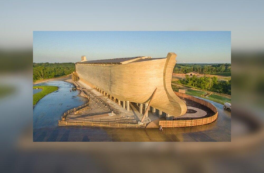 Попасть на Ноев ковчег: копия знаменитого корабля построена в США