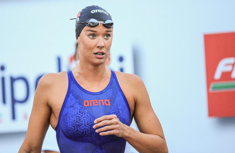 Itaalia ujumistäht Federica Pellegrini nakatus koroonaviirusesse