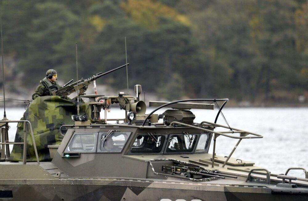 Rootsi, NATO, Merevägi