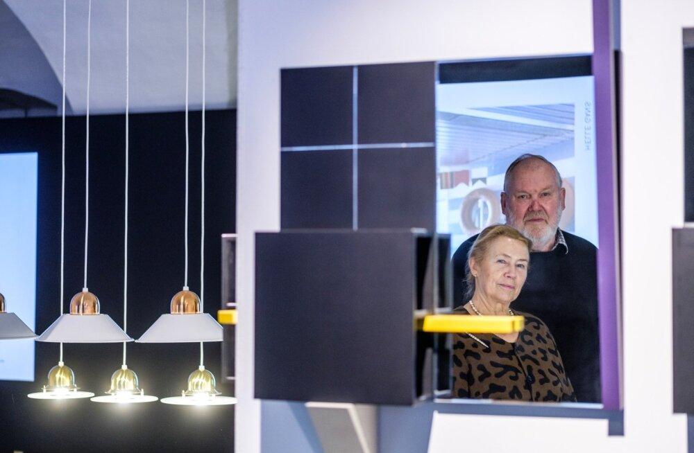 Helle ja Taevo Gansi elutöö on olnud Pärnu sanatooriumi Tervis interjööri arendamine üle 40 aasta jooksul.