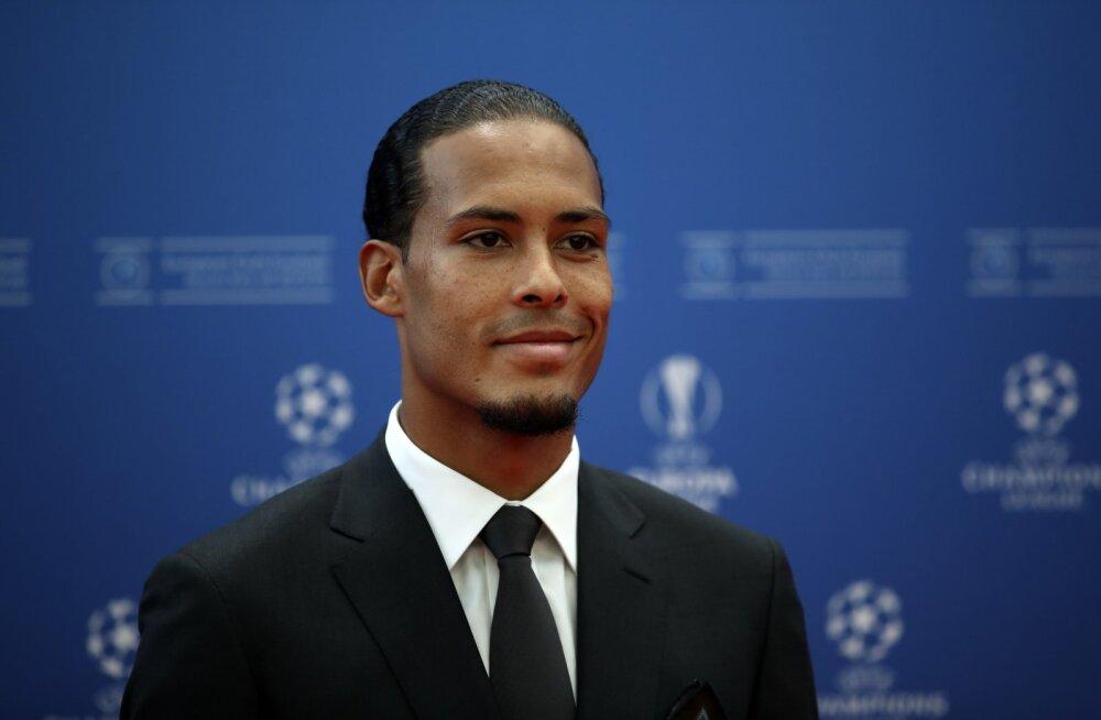 UEFA valis hooaja parimaks mängijaks Virgil van Dijki