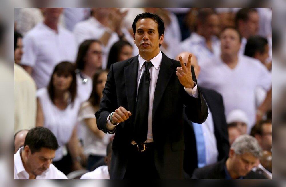 Erik Spoelstra, Miami Heati peatreener, NBA