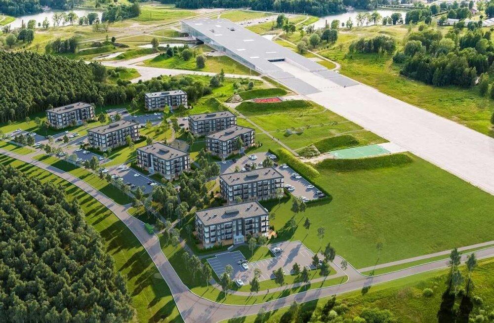 Varsti algab Tartu ühe suurima uusarenduse ehitus