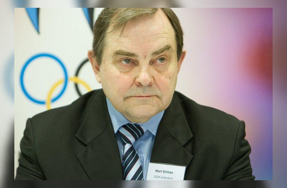 Mart Siimann, EOK president
