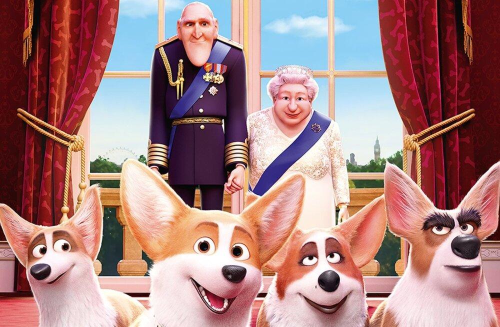 """6 fakti Elisabeth II lemmikute kohta animatsioonist """"Kuninganna corgi"""""""