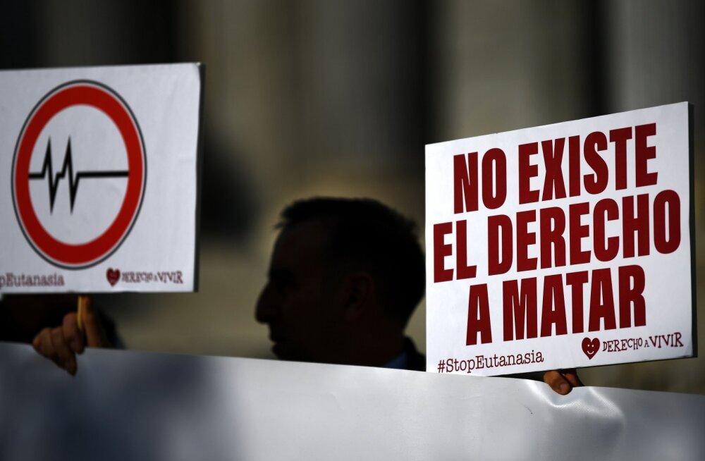 Hispaania parlament arutab eutanaasia lubamist