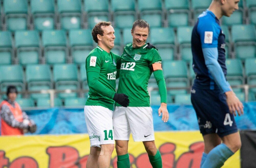 Kogenud koondislased Konstantin Vassiljev ja Gert Kams vedasid sel hooajal koos Flora tiitlile. Tuleval aastal jätkab neist ainult Vassiljev.