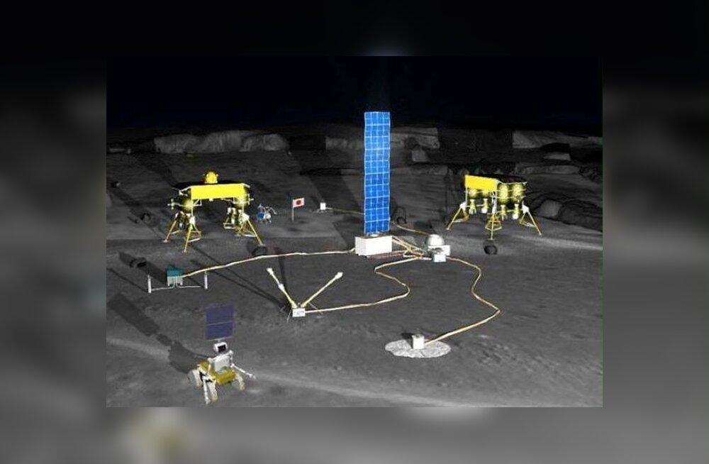 Jaapan saadab robotid 2020. aastaks Kuule jaama ehitama