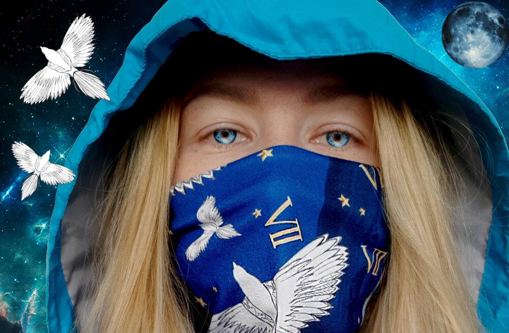 ФОТО И ВИДЕО | Вместо маски, шарфа и шапки. Что такое бафф, как его носить и почему он незаменим в гардеробе, если вы живете в Эстонии
