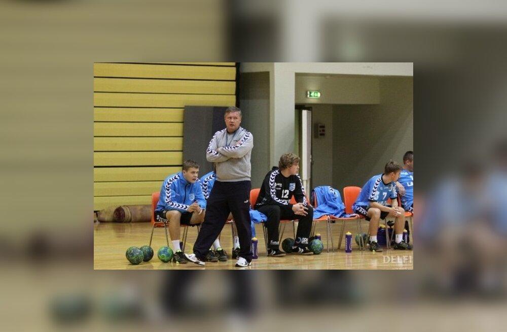 Kehra alistas käsipalliliiga keskses kohtumises Viljandi