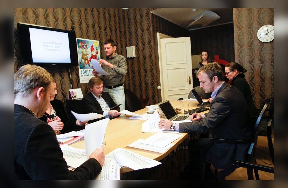 SA Nuku nõukogu koosolek