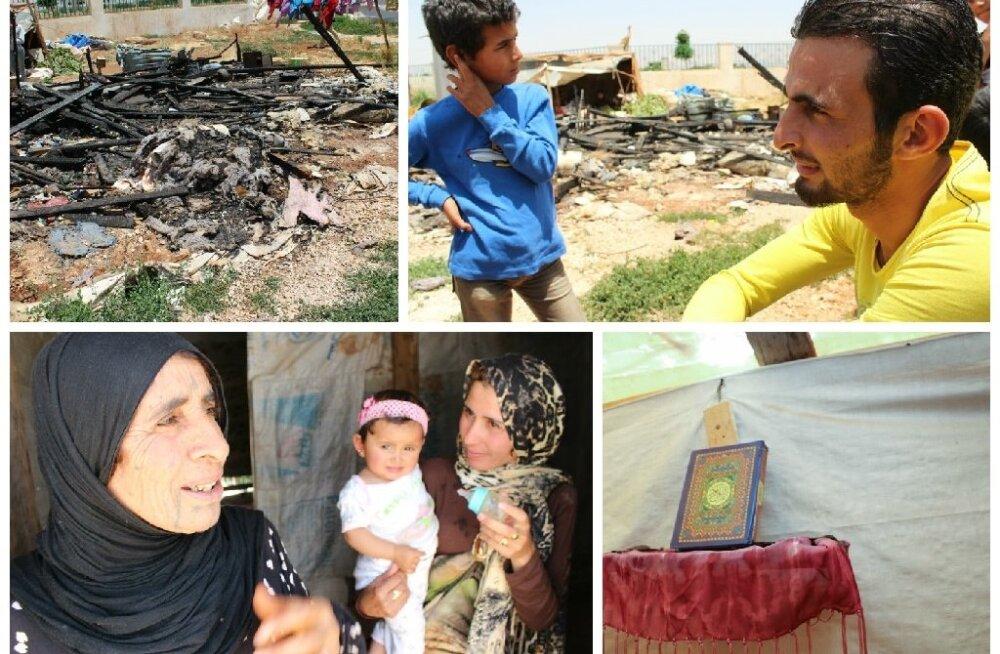 Süüria põgenikud Liibanonis
