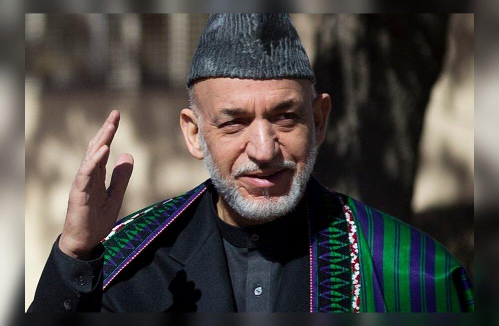 CIA veab Afganistani presidendipaleesse kottide viisi sularaha
