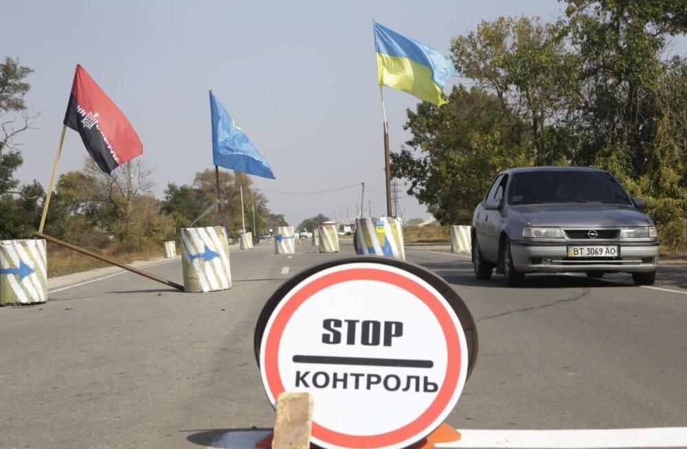 Venemaa protestib oma sõjaväelaste vahistamise pärast Krimmi piiril, kes aga Kiievi väitel on Ukraina desertöörid