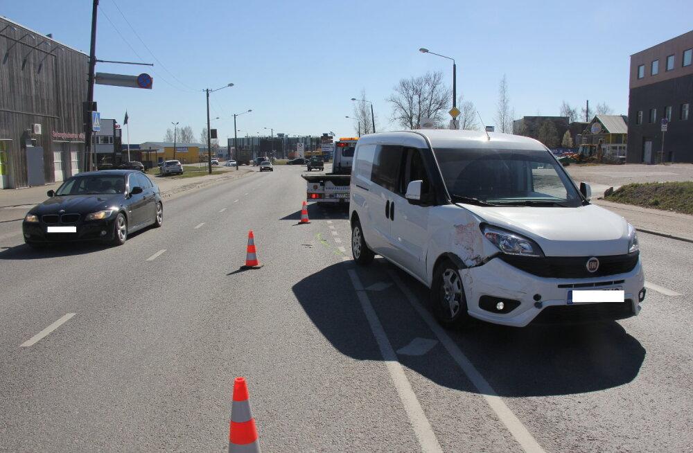 Politsei otsib Tartus juhtunud liiklusõnnetuse pealtnägijaid