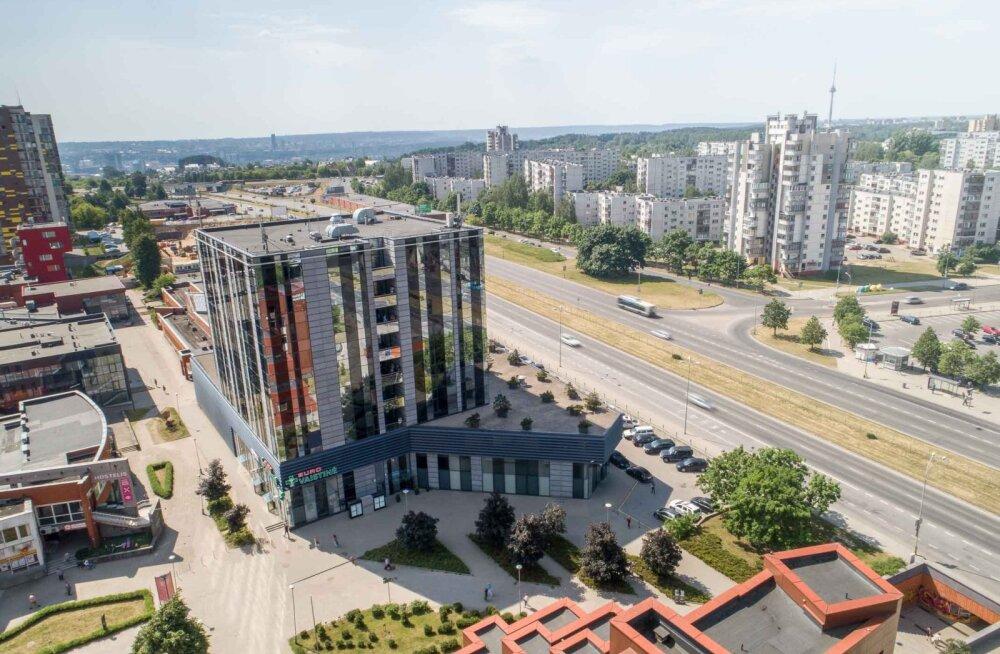 Eften ostis 9 miljoniga Vilniuse ärikeskuse, eeldatavaks tootluseks 8 protsenti aastas