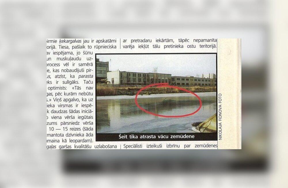 Sajandi müsteerium: mis juhtus Riia kanalist leitud Saksa allveelaevaga