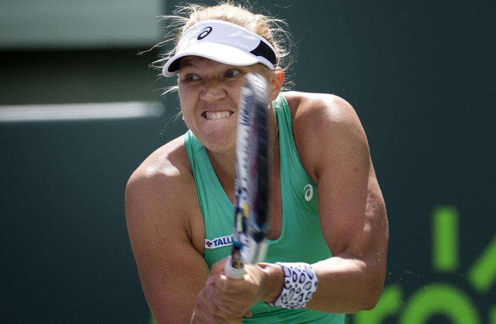 FOTOD: Hästi alustanud Kanepi jäi Wozniackile otsustavas setis alla