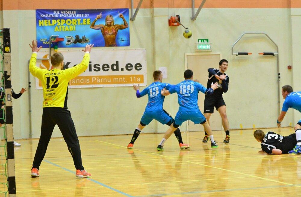 Viljandi HC ja HC Tallas Viljandi spordihoones