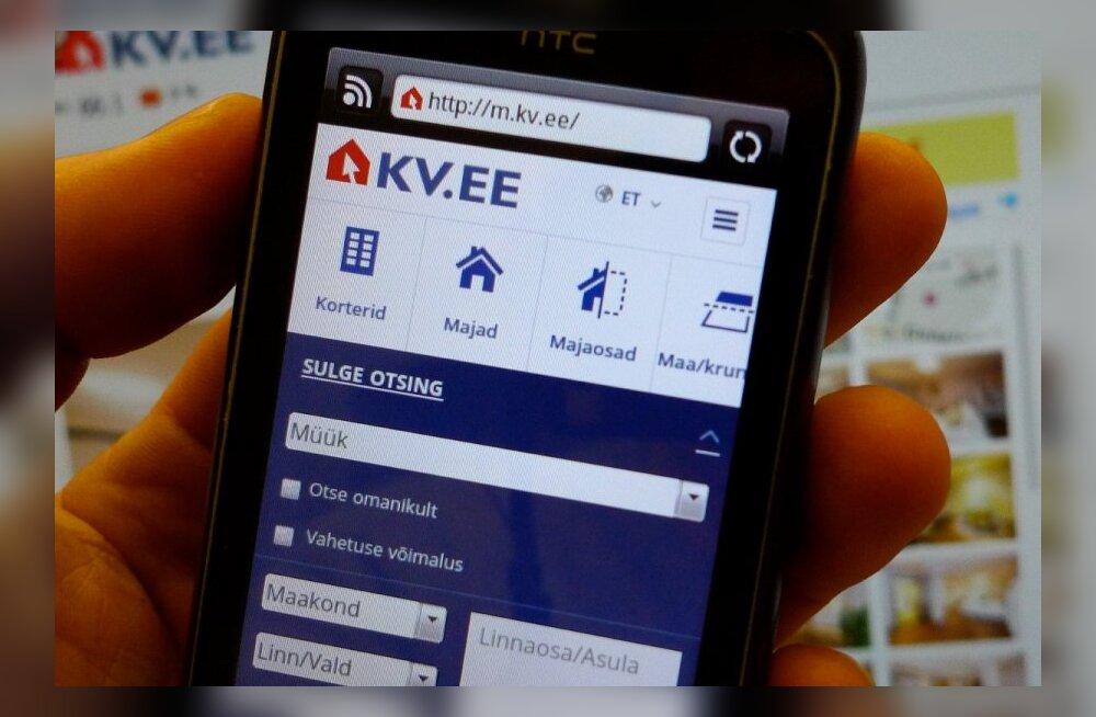 Käiku läks Eesti esimene kinnisvaraportaal mobiilseadmetele!