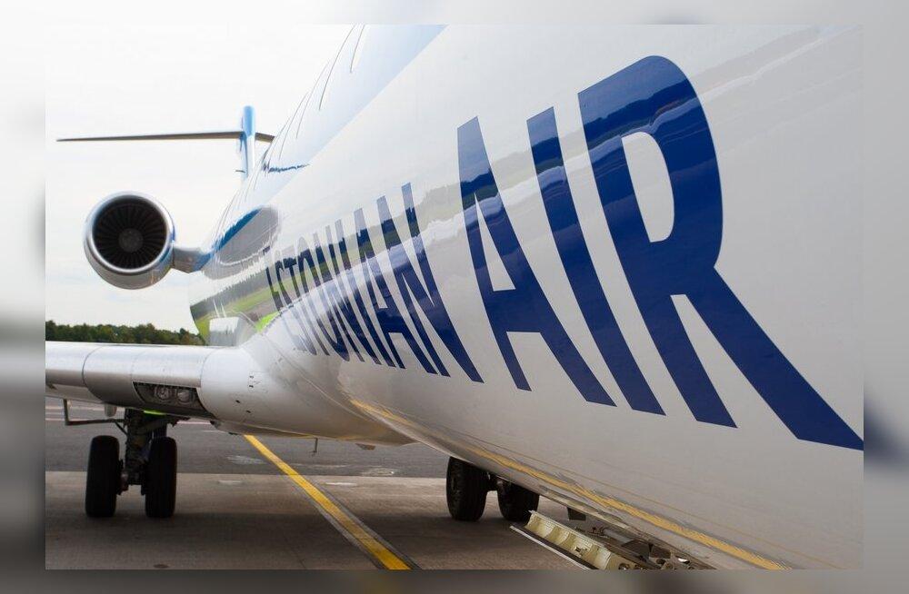 Согласно графику полетов, Estonian Air с 18 сентября прекращает летать в Ригу