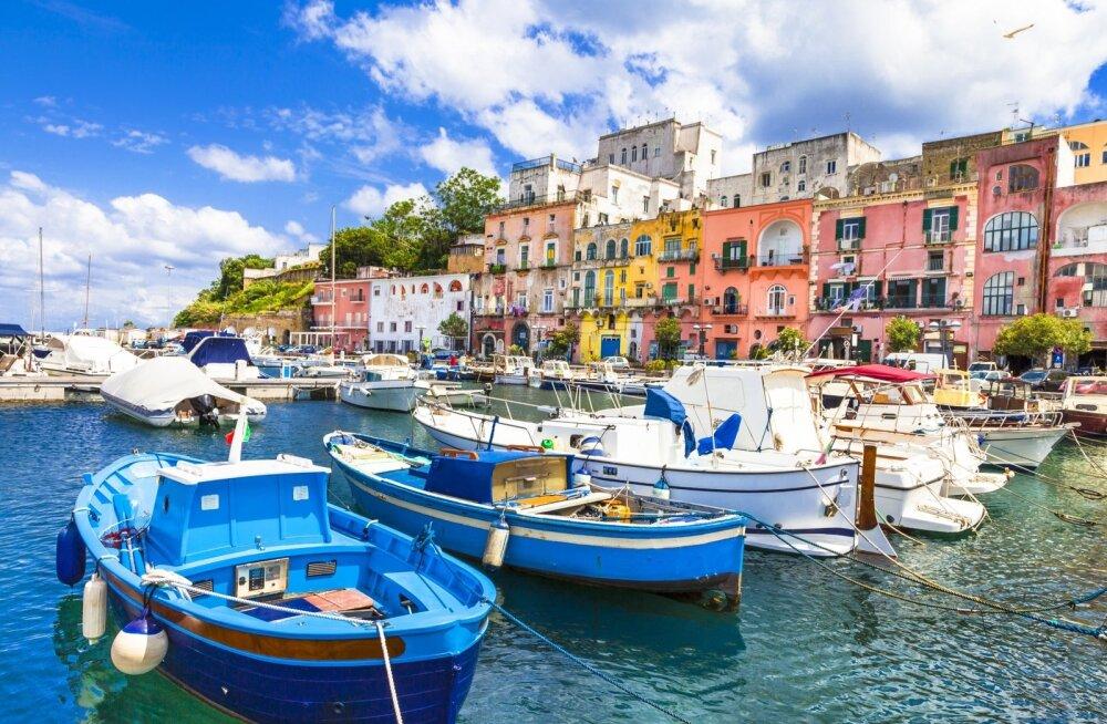 Mitte kõik kohad ja päevad pole Itaalis nii idüllilised kui see suvepäev Campanias.