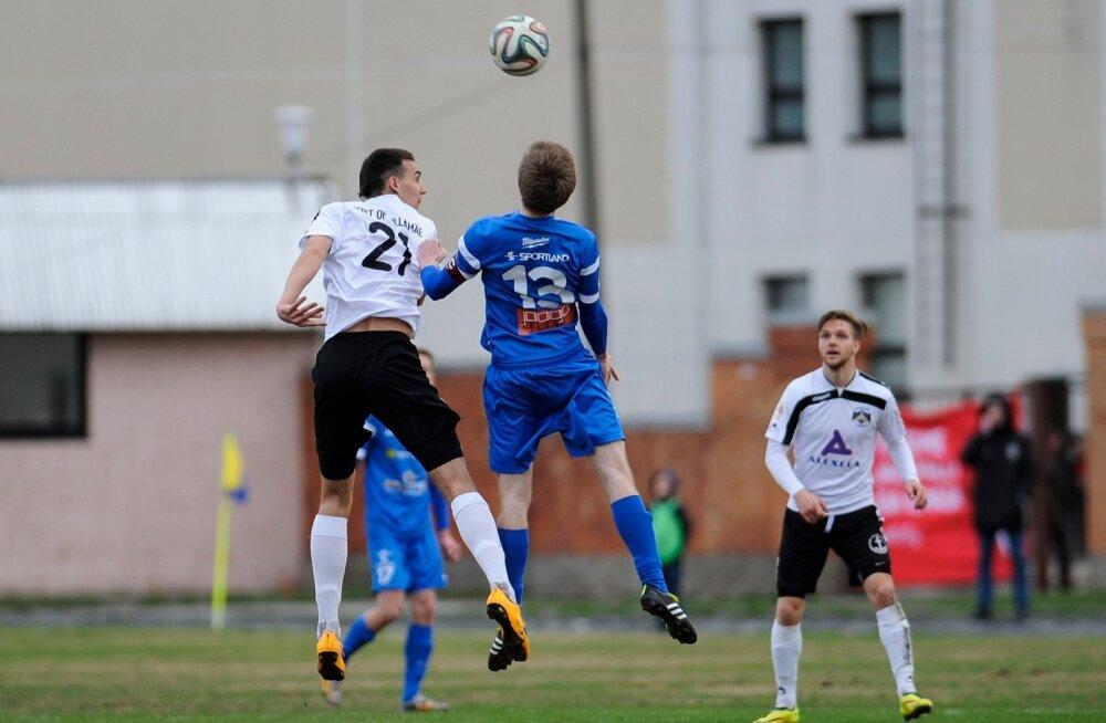 Jalgpall Sillamae Kalev vs Tartu Tammeka